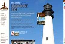 Custom Websites- Lighthouse Restaurants  / Lighthouse Restaurants Inc is the project of two restaurants websites  located by Miami , specifically in Key Biscayne . The name of these restaurants are :Lighthouse Cafe and Boater's Grill
