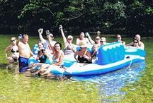Best float trip spots / Good games and activities to enjoy during a float trip!