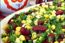 Salatalar.