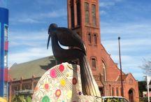 street art - yarnbombing nz