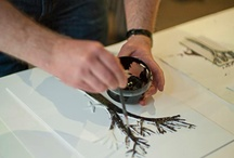atelier · craftsmanship / artist studios · workspaces · woodwork · tools · leather · designers at work