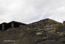 Landscaping rock walls / distinctive rock walls in the landscape