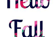It's Fall Y'all! / by Hannah Evatt