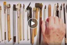 Video / Film of Calligraphy