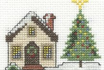 Cross-stitch Houses & Churches