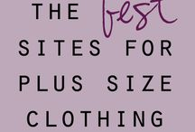 FASHION | Where To Shop / Places to find fashionable Plus Size clothing  / by Linda Cruz