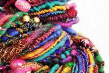 Spinning, spindling and handspun yarns