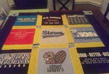 t-shirt quilts / by Terri Parrow Botsford