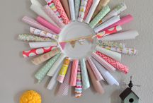 i ♥ crafts / Craft ideas that are easy, use yarn, paper and more. Create the crafts you love to display.