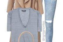 COTD Style Challenge: Submarine Gray/Blue and Tan