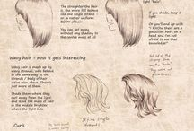 Drawing Hair and Ref.