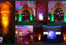 Mayan and Polynesian Theme   Event Decor / Mayan and Polynesian Event Decor, designed and built by Sixth Star Entertainment