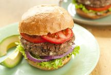 Recipes / Black Bean Burgers / by Tina Marie