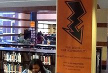 High School Library Style / by Tracy Carey