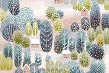 Artist - Jane Newland / Illustrations of Jane Newland