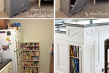 DIY hidden storage, small spaces solutions!