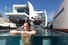 Design / Designed Houses , Gardens , Pools , Hotels , Roads , fountains , anything tht is worth to see it and pin it .
