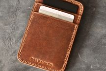 Compact Wallet Leather
