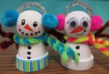 Classroom holiday crafts