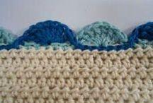 Borders for crochet blankets