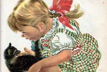 Vintage Kitties / by Rachelle Wise