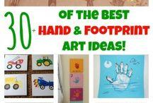 hand and feet ideas