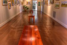 Arts Depot  / A gallery and studios are housed in Abingdon's historic freight depot. It is located at 314 Depot Square in Abingdon, VA.
