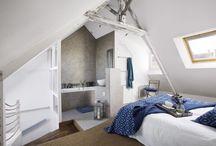 Chambres sous les combles
