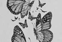 Butterflie ideas tatoos