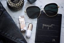 Travel essentials / Enjoy the journey. Travel essentials for ultimate style + comfort. ------------✈