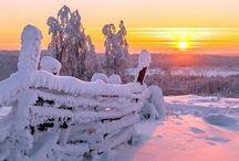 Zima - hory