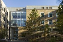 Duke University Star Commons / This project uses VMZINC Flat lock panels in a diamond orientation with the QUARTZ-ZINC material.