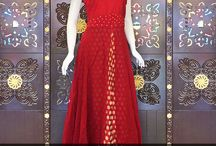 Designer Long Anarakali Gown Collection-1