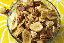 "Chex Mix/Popcorn/""Crunch"" Snacks / by Angie Widener"
