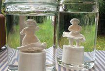 Bettina Storm Ceramics / Old Ladies and heroisme