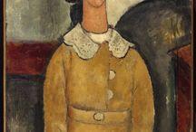 Artist - Amedeo Modigliani / Art