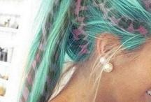 HAIR / Hair styles and colourz