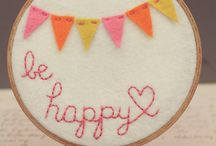 To make! - EMBROIDERY HOOP ART