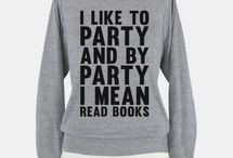 Library Wear / My patronus is a book worm