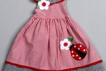 baby girl dresses with motif