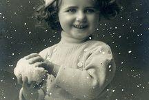 Vintage fotos and postcards
