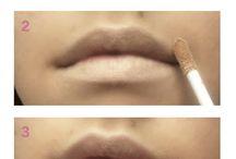 Everyday lip contoure, beauty, makeup, pyntepus.bloggersdelight.dk/