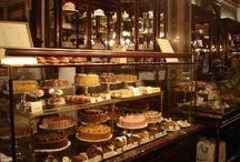Bakeri å besøke - mat å spise :)