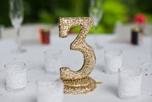 Wedding Table Numbers / by Love & Lavender | Wedding Blog