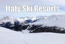 Italian Ski Resorts