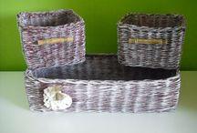 Pletení z papíru / Většinou papírové pletení ale i jiné tvoření