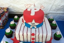 Custom Cakes  / Let us help you design a special, custom-made cake for your next party or event.  We will help you make your special event into an affair they won't ever forget. 