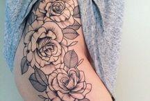 Tatuagem na coxa...