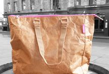 Pink zip buckle bag / Our amazing pink zip bag photographed in the East End of London. Looks just like paper but is super-strong, very lightweight, tear proof and waterproof. Be the first! None of your friends has got one yet! #tyvek bag #totebag #newstyle #fashionbag #borsa #moda #style