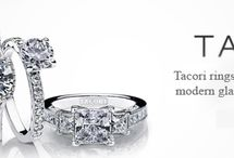Totally Tacori / Tacori engagement ring settings fuse old world elegance with modern allure to design exquisite engagement ring settings. Each Tacori engagement ring is an intricate combination of art and science.
